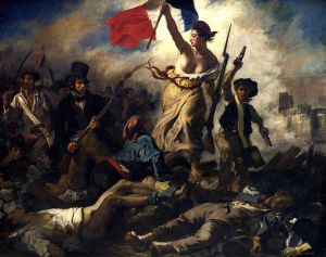 Eugene Delacroix painted this especially for Chris Martin, or so I am led to believe.